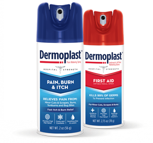 Dermoplast Pain and Itch Spray Dermoplast First Aid Spray